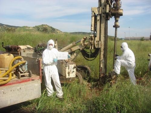 Campionamento Ambientale - Matera sito a rischio potenziale di amianto.jpg